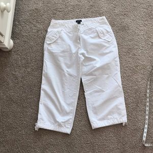 J Crew cropped low rise